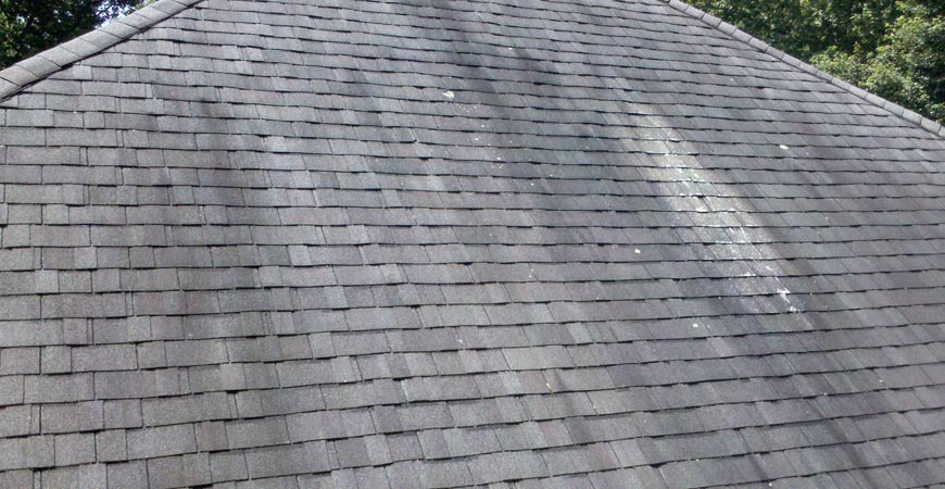 cleaner for black streaks on roof