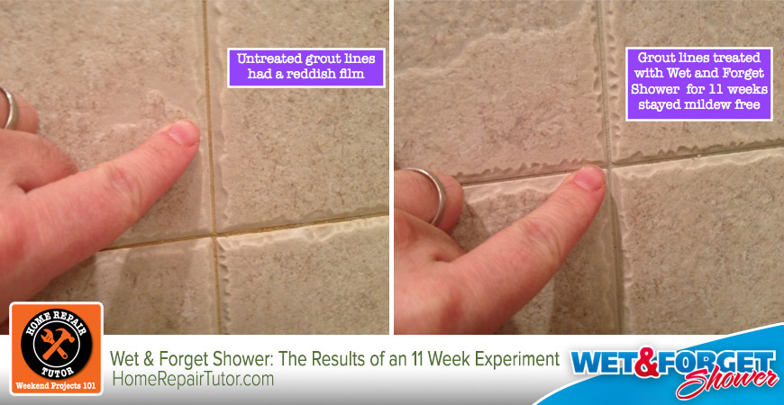 cleaning shower tile grout