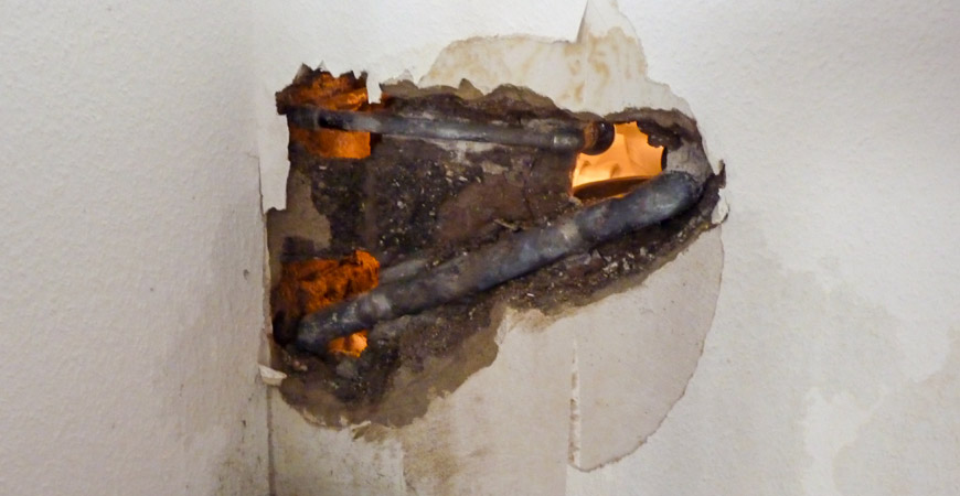 avoid water damage in home