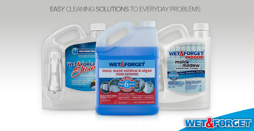 wet forget cleaning products