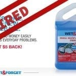 Save Now with our Wet & Forget Outdoor $5 Rebate – Expired