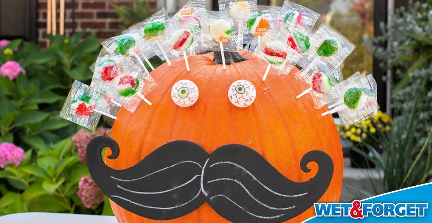 sucker pinterest pumpkin idea