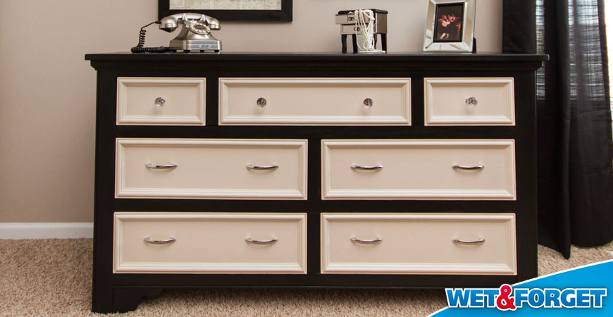 repurposed wood dresser