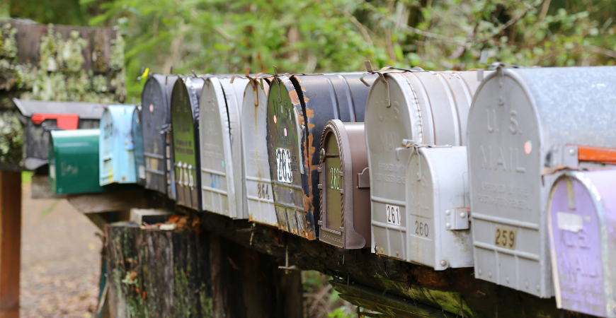 customize your mailbox to standout