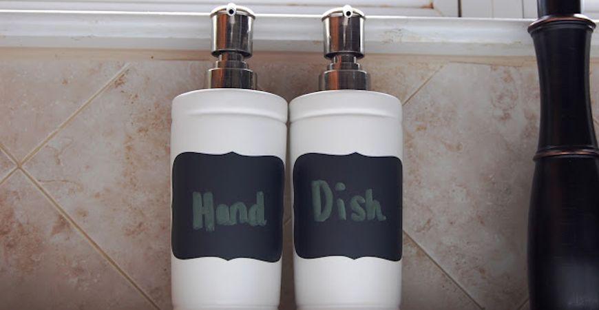 dish soap dispensers