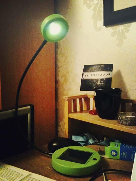 indoor solar-powered lighting