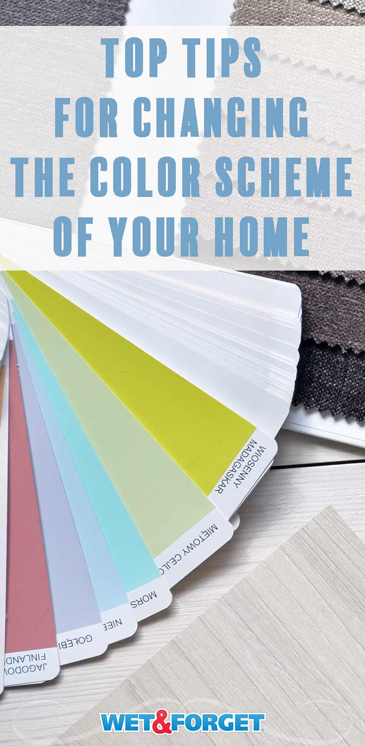 Learn how to change the color scheme of your home with these simple DIY tips!