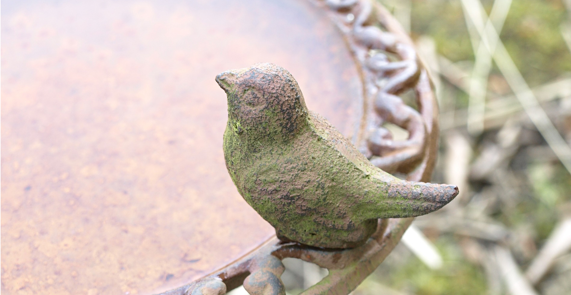 Cleaning a concrete birdbath is easy with these helpful tips!