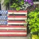 DIY Pallet Flag – The Hit of Your 4th of July Party