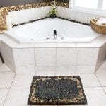 DIY Pebble Bath Mat And Other Ideas for a Quick Bathroom Makeover