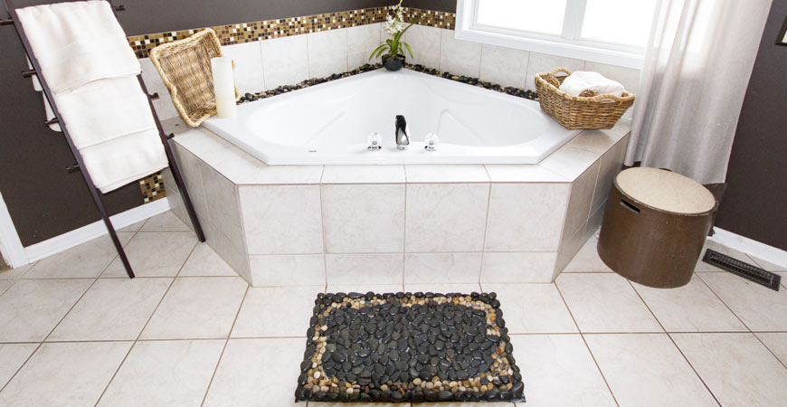 Diy Jacuzzi Bathtub.Ask Wet Forget Diy Pebble Bath Mat And Other Ideas For A