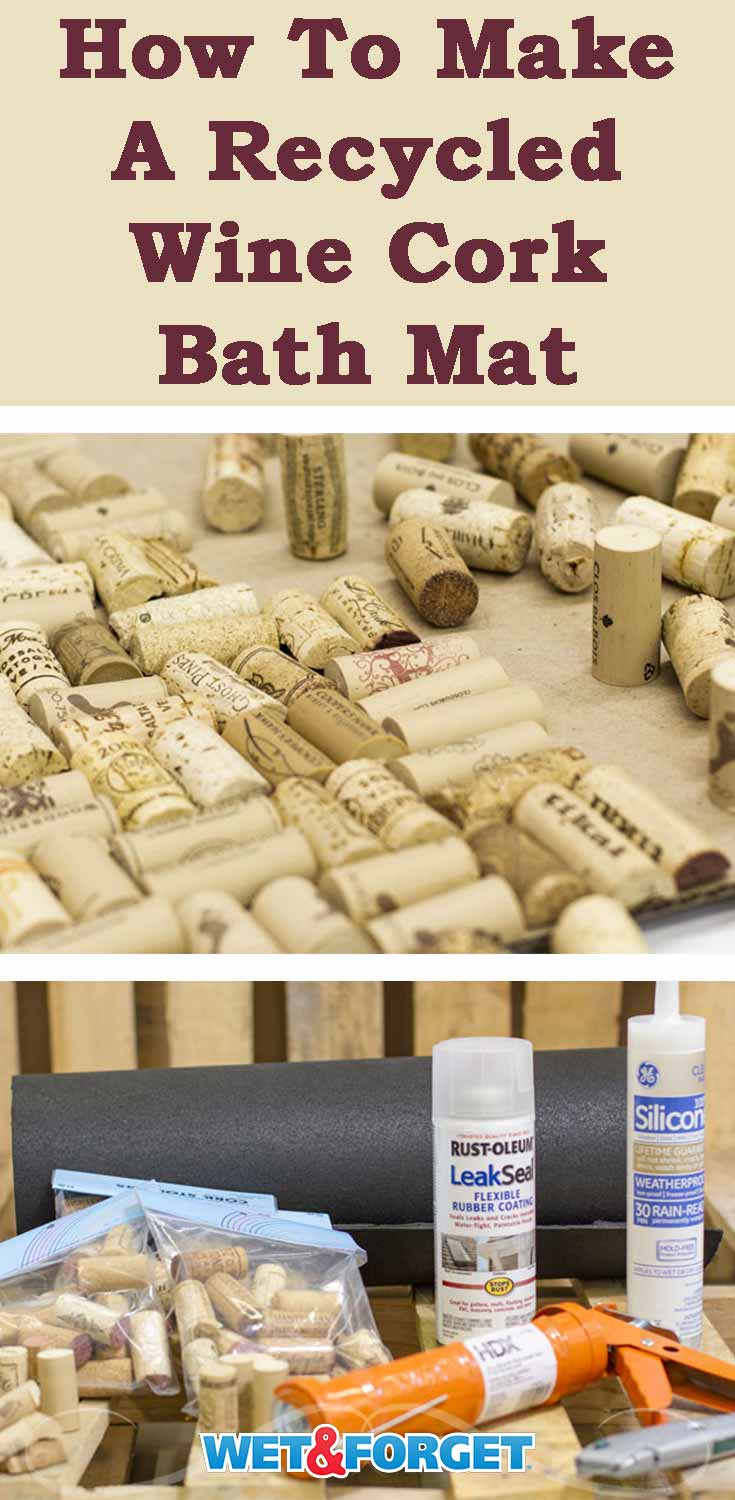 Ask Wet & Forget DIY Cork Bath Mat and Other Bath Mat ...