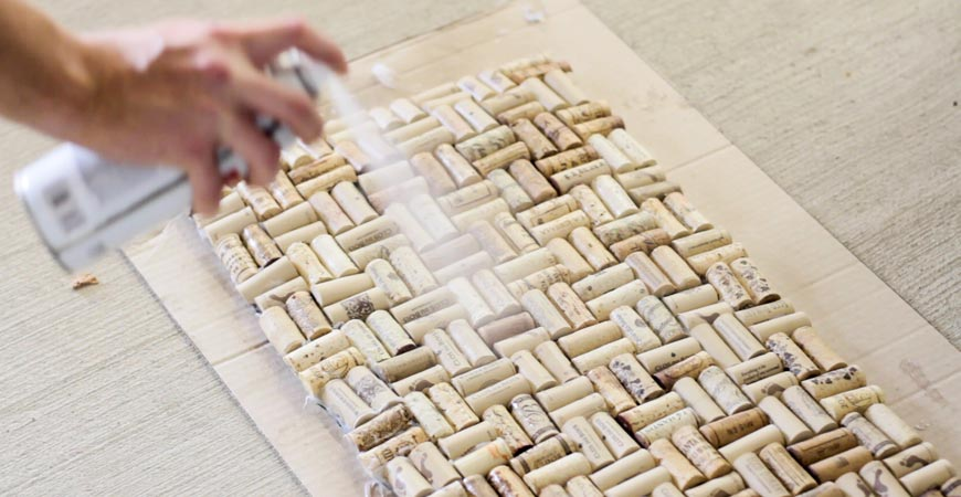 Adhesive Cork Ideas
