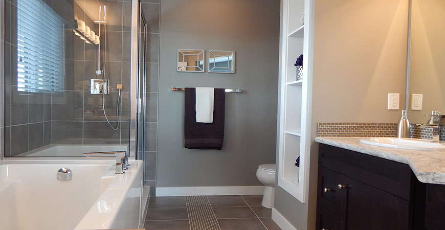 Use our tips to save money while transforming your bathroom