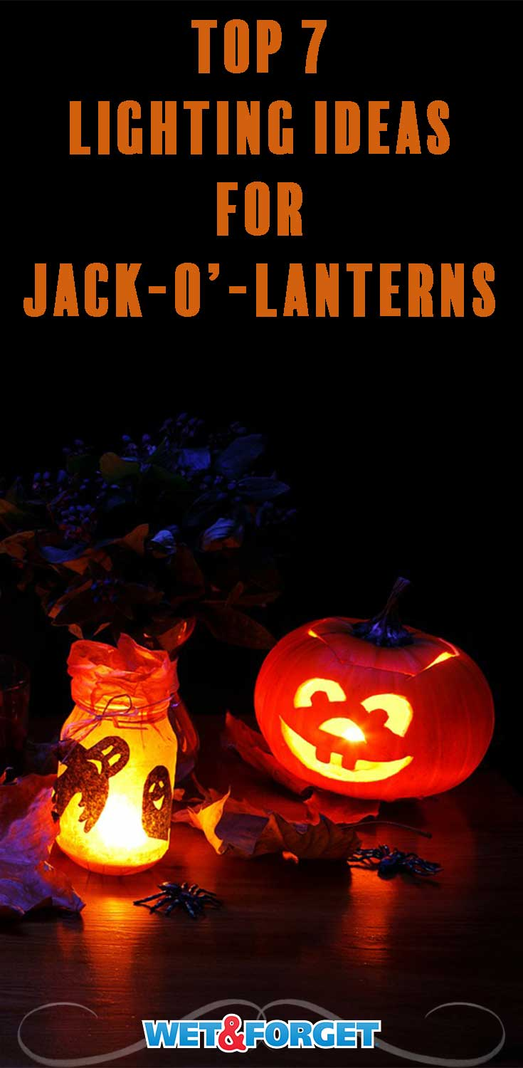 Give your Jack-o'-lantern a unique look with one of these lighting ideas!