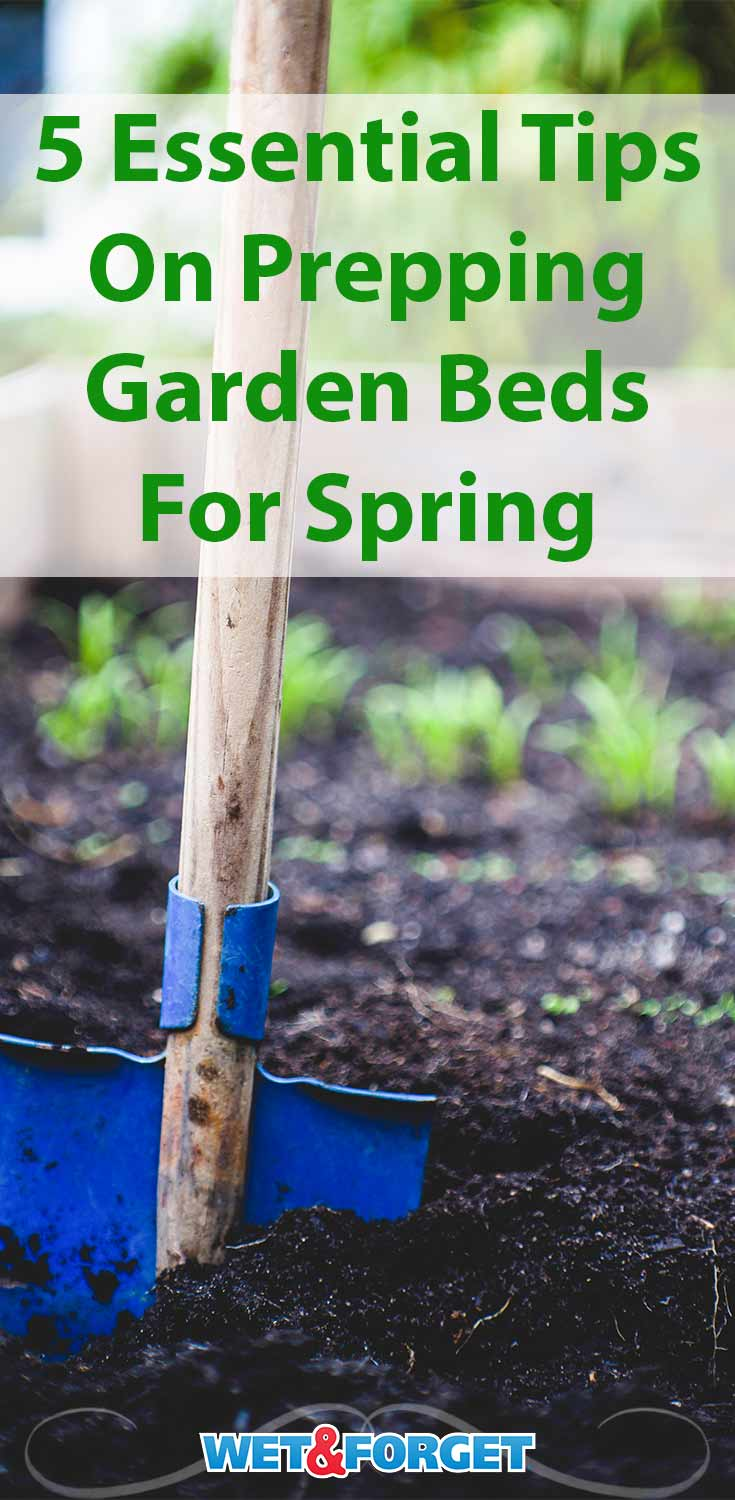 Make sure your garden bed are ready for spring with these essential tips!