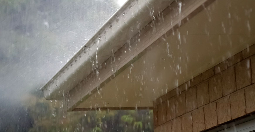 Ask Wet Amp Forget Rain Gutters How They Work Plus