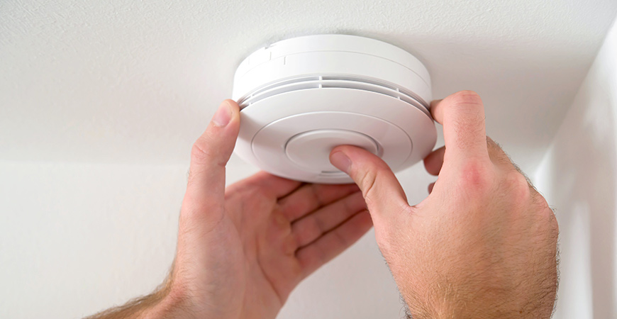 Learn how to install a fire alarm and when to test it with our guide.