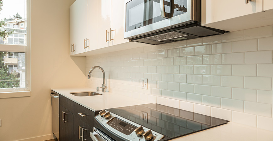 Learn how to add a subway tile backsplash to your home