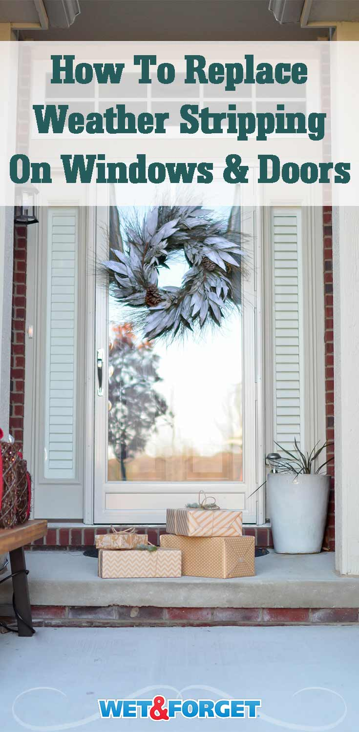 Do you feel a draft coming from your windows or doors this winter? It may be time to replace the weather stripping. Easily replace it with this how-to guide!