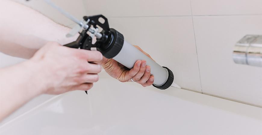 shower caulking tips