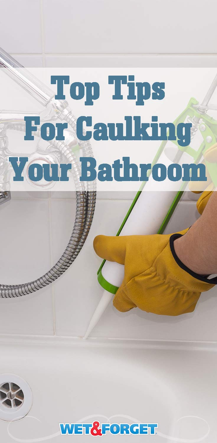 Planning on recaulking your bathroom? Read up on these helpful tips!