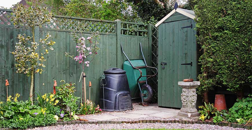 Organize your backyard for Father's Day present