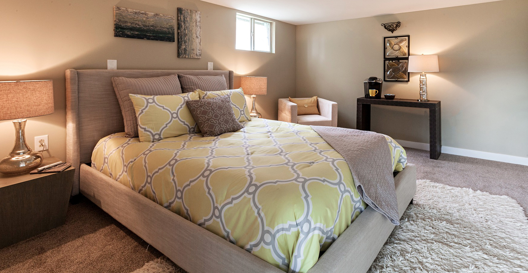 basement guest room ideas