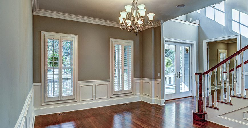 Refresh your home by installing crown molding