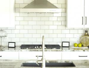 kitchen backsplash - subway tile